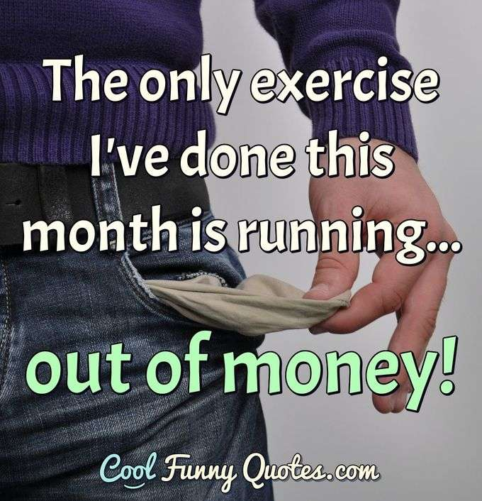 Funny Exercise And Dieting Quotes Cool Funny Quotes