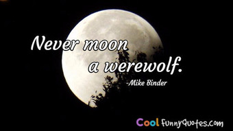 Moon with quote.